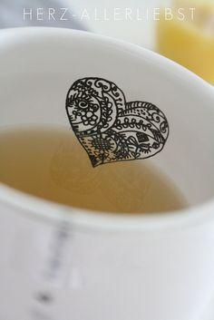 Tea Time - sharpie fun. Nx