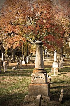 """The Dartford Cemetery holds history dating back to the Civil War. Paranormal sightings and experiences have been featured in the episode """"Legend Trippers"""" of the Discovery Channel's A Haunting series. Chief Highknocker, the last Chief to rule the Green Lake Area, is buried here."""