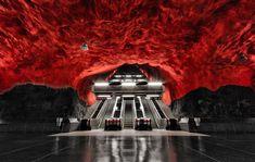 Stunning Underground Art In Stockholm's Metro Station | Bored Panda