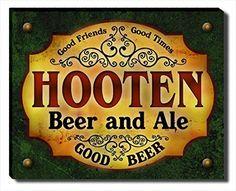 Hooten Beer & Ale Stretched Canvas Print ZuWEE…