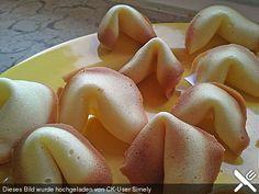 Chinesische Glückskekse, ein raffiniertes Rezept aus der Kategorie Kekse & Plätzchen. Bewertungen: 72. Durchschnitt: Ø 4,3.