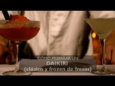 Como Preparar un Daikiri (Clasico & Frozen de Fresas) : Los Cocteles Mas Populares - YouTube
