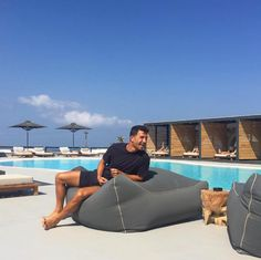 can we join your chill time by the pool? Mykonos Hotels, Surfboard, Boho Fashion, Bliss, Chill, Join, Boutique, Summer, Bohemian Fashion