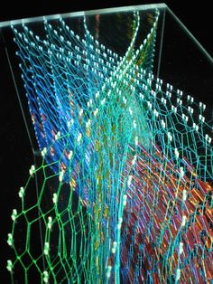 Isobel Currie is is a three-dimensional embroidery artist living and working in Stockport, Greater Manchester. World Crafts, Textiles Techniques, Textile Artists, Light Art, Embroidery Art, Installation Art, Three Dimensional, Art Forms