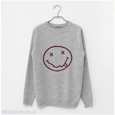 Tröja med smiley (230 BRL) ❤ liked on Polyvore featuring tops, hoodies, sweatshirts, sweaters, shirts, men and shirt tops