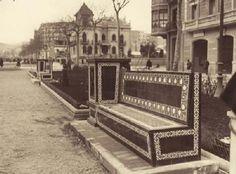 barcelona 1930   ... QUE SON MUCHAS EN LA VIDA...: BARCELONA ---PASEO SANT JOAN, 1930 ...