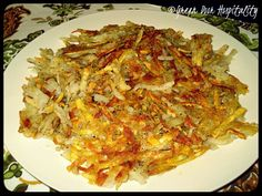 Homemade Staples:  Hash Browns from Scratch