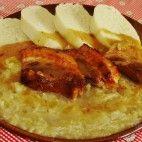 Šenkérska kapusta • recept • bonvivani.sk Camembert Cheese, Lamb, Food And Drink, Vegetables, Cooking, Kochen, Vegetable Recipes, Baby Lamb, Brewing