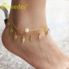 Guaranteed safe checkout: Free Shipping! Click +ADD TO CART To Order Yours Now! 100% Satisfaction Guaranteed With Every Order. Hand Crafted with care! Item Type: Anklets Fine or Fashion: Fashion Gende