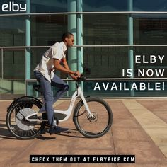 Elby is now available for purchase! Get your bike today! #ebike #electricbike #ElbyBike