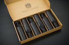 Prosperitas Wine (Branding and Label Design) by Gjoko Muratovski, via Behance