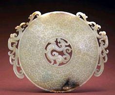 jade de china. Jade Liangzhu Hangzhou. Bi and Cong Ancient Jade Carvings