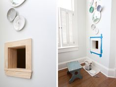 Cut A Hole In Wall For Cats Litter Box | The Lettered Cottage