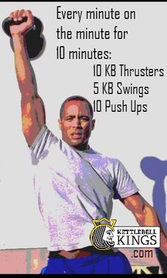 kettlebell workout,