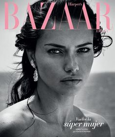 Harper's Bazaar Spain July 2017 Adriana Lima by Vincent Peters