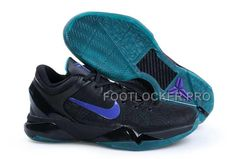 best service 9a9ef 9c100 Nike Zoom Kobe 7(VII) Shoes Black Blue Kobe 7 Shoes, Kobe