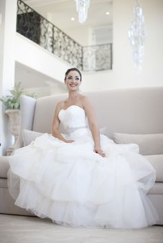 Bridal Gown from the Oleg Cassini Wedding Collection 2012.