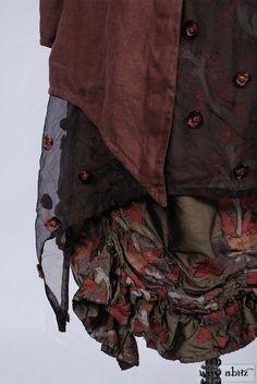 Layered jacket over frocks. - Ivey Abitz