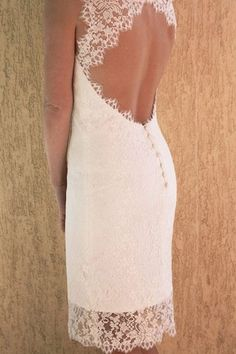 Picture 1 - 50 of the best short wedding dresses -