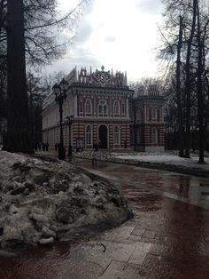 Москва. Дворцово-парковый ансамбль Царицыно.