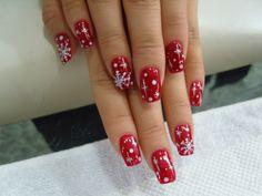 oh dear Gawd!!! Holiday nails!