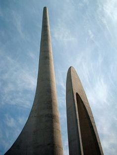 The Afrikaans Language Monument (Afrikaans: Afrikaanse Taalmonument) is located on a hill overlooking Paarl, Western Cape Province, South Africa