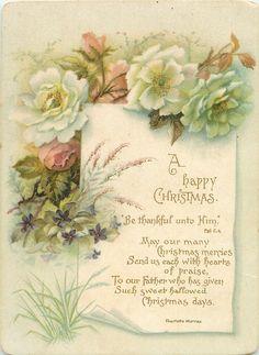 Beautiful spiritual Christmas greeting!