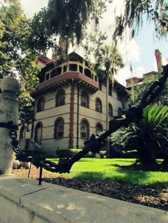 Beautiful view of Flagler College.