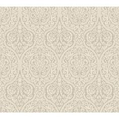 York Wallcoverings�Graphite Gray and Dove Gray Strippable Prepasted Textured Wallpaper