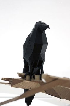 O corvo (dobradura)