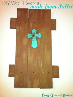DIY ~ Wall Decor made from Pallet