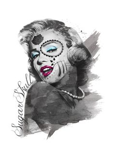 Sugar Skull Monroe