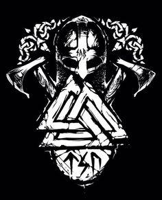 """O Valknut é um símbolo nórdico da morte que teria a capacidade de acelerar a passagem dos mortos para a vida eterna. Trata-se de um dos símbolos mais importantes da mitologia nórdica. Encontrado por arqueólogos em ruínas que remontam à época dos vikings - séculos VIII a XI - é conhecido também como """"nó dos enforcados"""" ou """"nó dos escolhidos"""". Formado por três triângulos entrelaçados, a palavra valknut em norueguês significa """"nó dos que caíram em batalha"""", de modo que está relacionado com o…"""