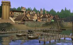 Spring4Sims » Côtes d'Ambonnay, A French Medieval World by xSorcier
