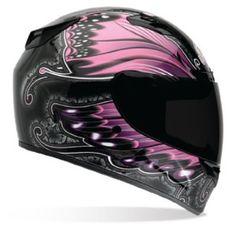 Badass Womens Motorcycle Helmet. Full Face Motorcycle Helmets, Full Face Helmets, Motorcycle Gear, Bicycle Helmet, Women Motorcycle, Aftermarket Motorcycle Parts, Motorcycle Parts And Accessories, Riding Gear, Bobber
