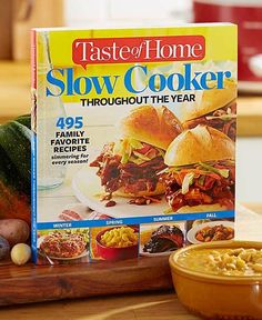 Taste of Home® Slow Cooker Throughout the Year, $17.95