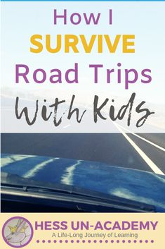 10 road trip hacks for traveling with kids. how to survive a road trip with kids Toddler Travel, Travel With Kids, Family Travel, Road Trip With Kids, Family Road Trips, Travel Abroad, Travel Tips, Travel Ideas, Travel Hacks