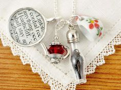 Tea at Wuthering Heights Necklace