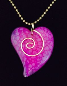 A personal favorite from my Etsy shop https://www.etsy.com/listing/264521272/valentine-heart-stone-necklace-genuine