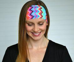 Yoga headband Womens wide tie dye headband by WildandFreeFashion ... eb766495a9e