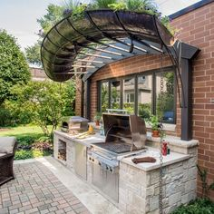 Small Outdoor Kitchen                                                       …
