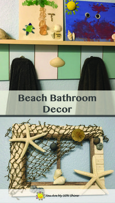 You may get by with altering simply a few little items such as a toothbrush holder, wastebasket, and window drape ties. Plan ahead when buying bathroom items to find methods to accommodate the seasons without emptying your pocket book each time. Beach Theme Bathroom, Beach Bathrooms, Diy Bathroom Decor, Bathroom Design Layout, Bathroom Design Small, Restroom Cabinets, Restroom Design, Decorating On A Budget, Bathroom Renovations