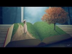 Story Book - Photoshop manipulation Tutorial - YouTube