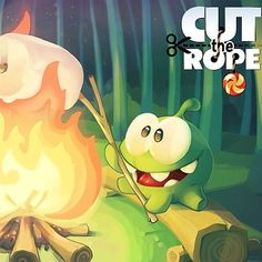Happy Toasted Marshmallow day! Do you love roasting marshmallows with your family or friends? Cut the Rope: Time Travel
