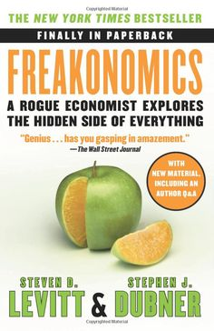 In Freakonomics (written with Stephen J. Dubner), Levitt argues that many apparent mysteries of everyday life don't need to be so mysterious: they could be illuminated and made even more fascinating by asking the right questions and drawing connections.