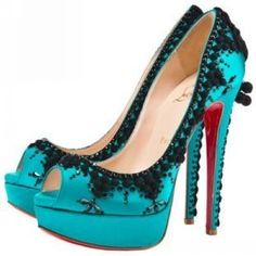 underwater theme.  If i went to a prom that had the underwater theme I would choose to wear these shoes.