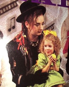 Boy George and Natalie George Young, Boy George, Metal Stars, Culture Club, 80s Music, Boy Bands, Georgia, Take That, Couple Photos