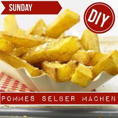 http://eatsmarter.de/ernaehrung/gesund-ernaehren/pommes-selber-machen Beim Pommes selber machen lassen sich viele Kalorien sparen.