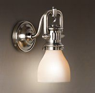 1920s Factory Sconce
