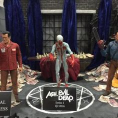 Ash vs The Evil Dead at the NECA Booth at Toy Fair 2016